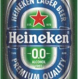 INTRODUCING THE BEST-TASTING NON-ALCOHOLIC LAGER:  HEINEKEN 0.0