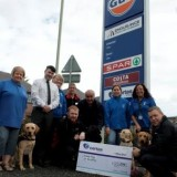 CERTAS ENERGY RAISES £3,000 FOR THE GUIDE DOGS FOR THE BLIND