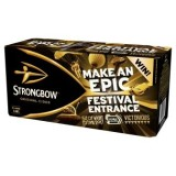 STRONGBOW SWINGS INTO SUMMER WITH ON-PACK PROMOTIONS FOR FESTIVAL-GOERS