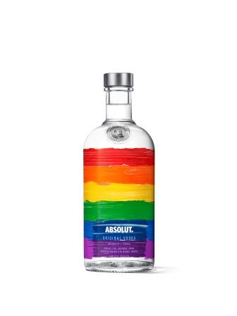 ABSOLUT TAKING PRIDE IN DIVERSITY WITH EYE-CATCHING LIMITED-EDITION BOTTLE