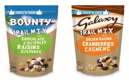 New BOUNTY and GALAXY Trail Mixes