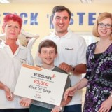 Essar Stanlow safety record helps local Cerebral Palsy charity