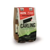 CARLING LAUNCHES ON-PACK PROMOTION GIVING CONSUMERS THE CHANCE TO WIN THE PREMIER LEAGUE TROPHY AND OTHER PREMIER LEAGUE PRIZES