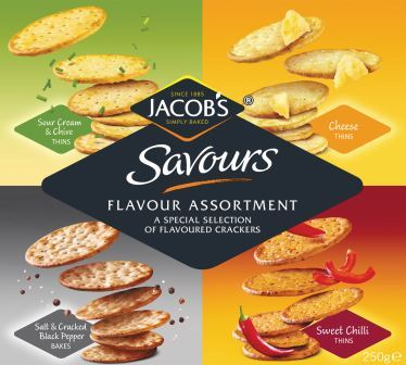 Jacob's Savours Flavour Assortment