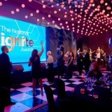 THIRD IGNITE NATIONAL AWARDS LIGHT UP O2