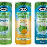 GRACE FOODS ADDS SLIM CAN COCONUT WATER TO RANGE