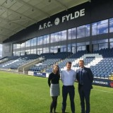 RUSTLERS PARTNERS WITH AFC FYLDE TO SUPPORT YOUNG PEOPLE  THROUGH PHYSICAL EDUCATION