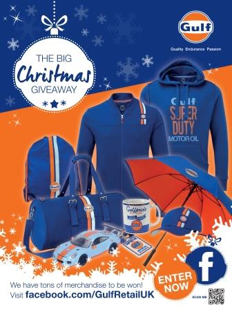 CHRISTMAS COMES EARLY AS GULF LAUNCHES NEW PROMOTION