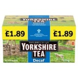 Yorkshire Tea unveils new Decaf price-marked pack
