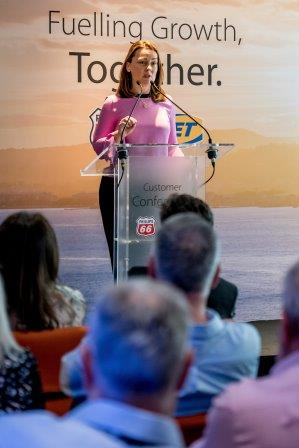 JET highlighted its growth plans at the Customer Conference