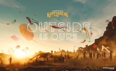 Kopparberg unveil £6M Outside is Ours marketing campaign