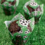 FOOTBALL FANS CAN CHEER FOR OTIS CHOCOLATE MUFFIN