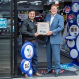 National Lottery retailer celebrates customers raising over £2.2M for Good Causes