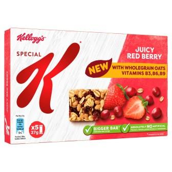 SpK Cereal Bars - Juicy Red Berry