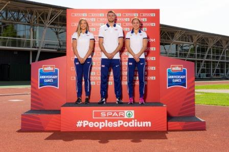British Athletics Partner SPAR to Boost Community Sport With 'The People's Podium'