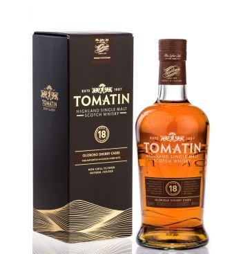 TOMATIN DISTILLERY TOAST DOUBLE-DIGIT GROWTH
