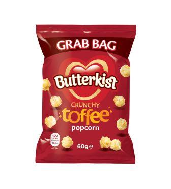 701200 Butterkist Toffee Popcorn Grab Bag 60g