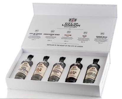 City of London Gift Pack 01 - 5 x 5cl