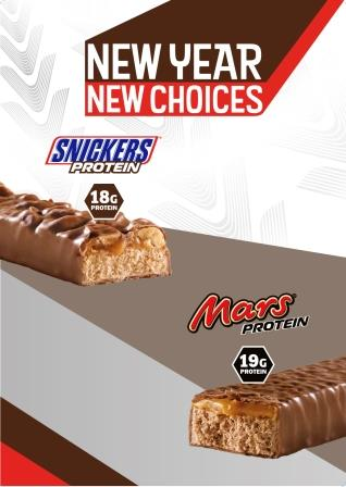 Protein bars - New Year New Choices
