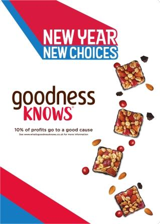 goodnessKNOWS - New Year New Choices
