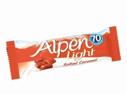 Alpen Light Salted Caramel Bar 19g