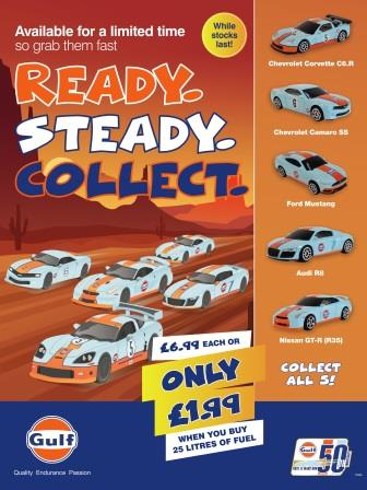 GULF LAUNCHES COLLECTIBLES PROMOTION