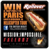 Rollover Teams up with Mission: Impossible this summer to shake up the Hot Food To Go category!