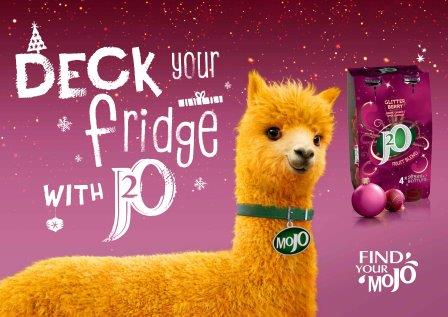 Retailers sales set to sparkle with J2O this festive season