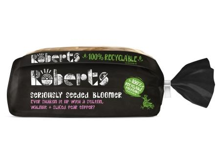 ROBERTS BAKERY becomes FIRST UK bread brand to achieve 100% recyclable packaging