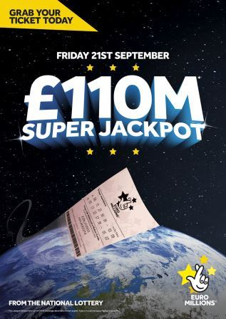 HUGE WEEKEND IN STORE AS NATIONAL LOTTERY BOASTS TWO BUMPER JACKPOTS