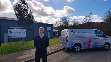 Devon-based GripHero shortlisted in prestigious national health & safety awards – company praised for innovative product that improves the health and safety of drivers
