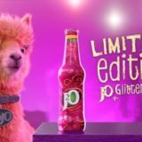 J₂O CELEBRATES RETURN OF LIMITED EDITION GLITTERBERRY FLAVOUR WITH NEW TV AD