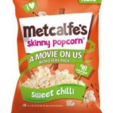 Metcalfe's® popcorn launches new Disney Kitchen sharing bags