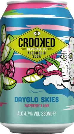 """ALCOHOLIC SODA BRAND CROOKED BEVERAGE CO AIM TO DELIGHT WITH THEIR NEWEST CAMPAIGN """"IT'S ALL GOOD!"""""""