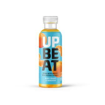 UPBEAT LAUNCHES NEW Protein water FLAVOUR for january health kick