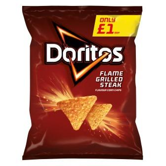 Doritos expands into meat flavours with new packs
