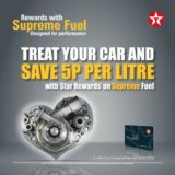New Year cheer for retailers with Texaco Supreme Fuel promotion