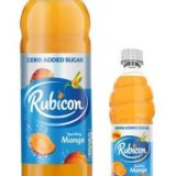 NEW RUBICON MANGO ZERO ADDED SUGAR LAUNCH TO ADD CHOICE AND DRIVE SALES IN GROWING LOW CALORIE MARKET