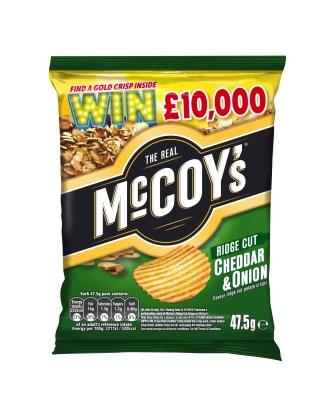 MCCOY'S LAUNCH BIGGEST EVER 'WIN GOLD' ON-PACK CAMPAIGN