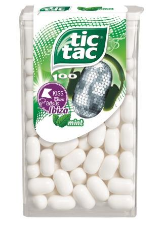 FERRERO IS OFFERING FREE MIXED CASES OF TIC TAC TO REINFORCE THE POWER OF ITS CORE RANGE